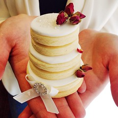 Tiered cookie cake by Sophia Mya Cupcakes