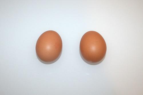 04 - Zutat Hühnereier / Ingredient eggs