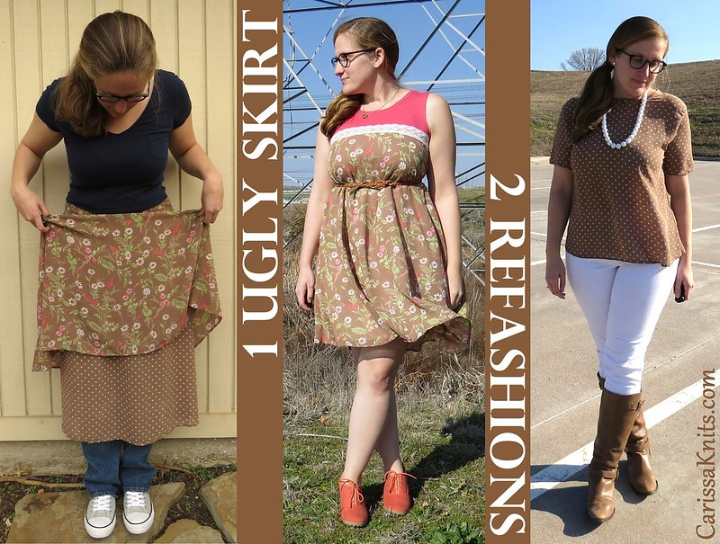 UGLY Skirt Challenge - Before & After