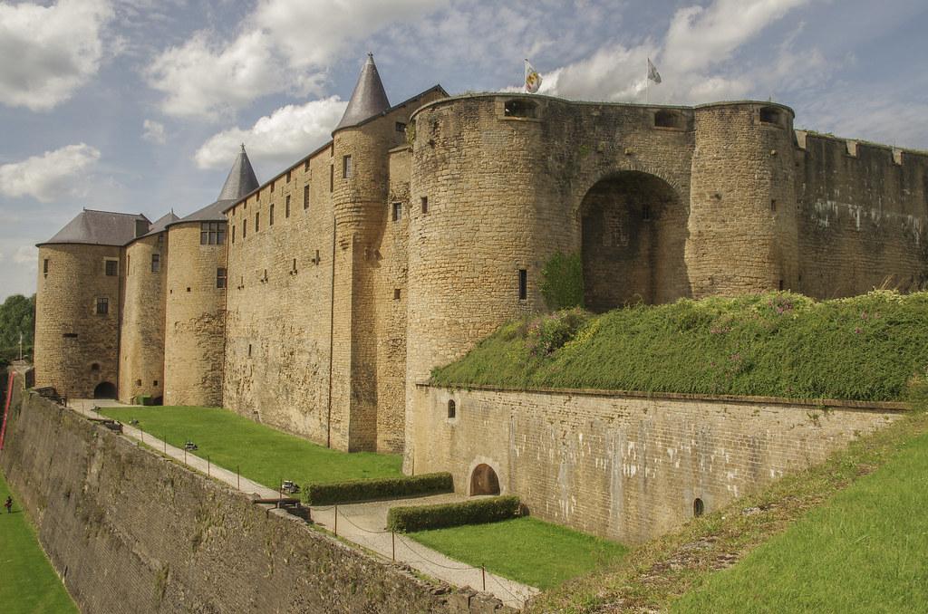 Château fort de Sedan Ardennes France