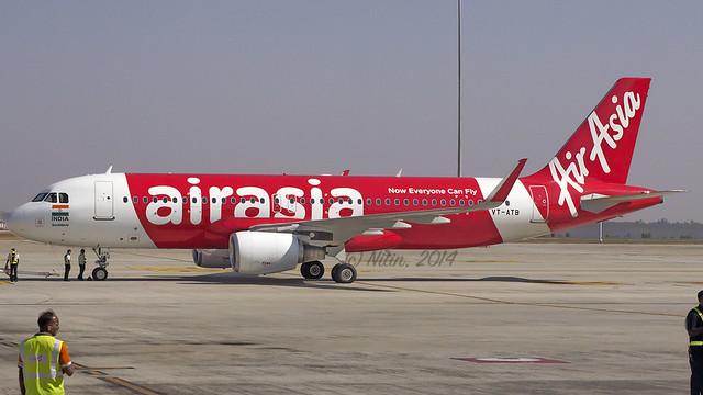 Air Asia A320 VT-ATB