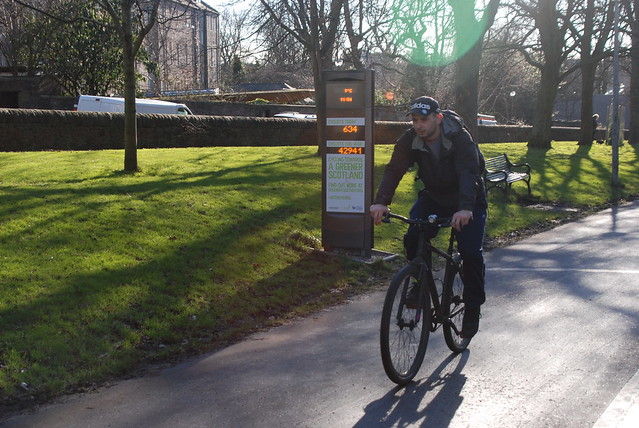 634 cyclists to day and counting