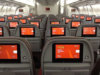 Iberia A340-600 Retrofit Turista (Iberia)