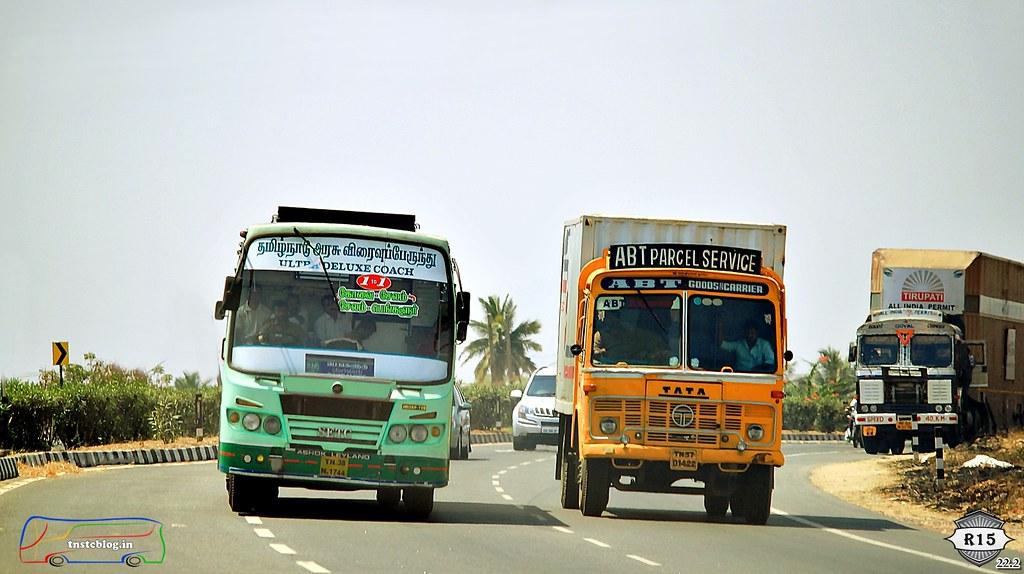 TN38 N 1744 Covai - Salem - Bengaluru