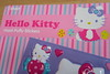 Hello Kitty hard puffer sticker sheet
