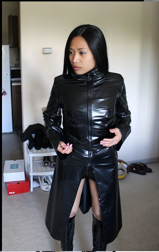 Asian Women In Leather 88