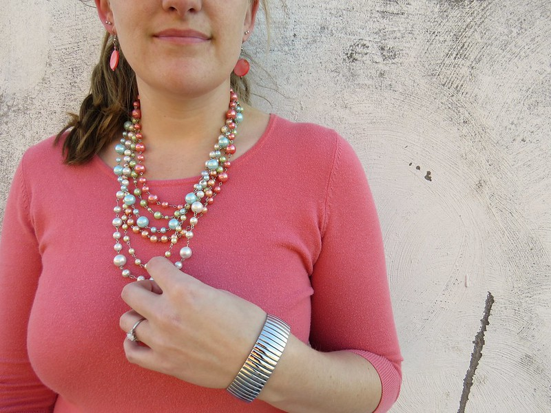 Thrift Style Thursday: Pop of Color