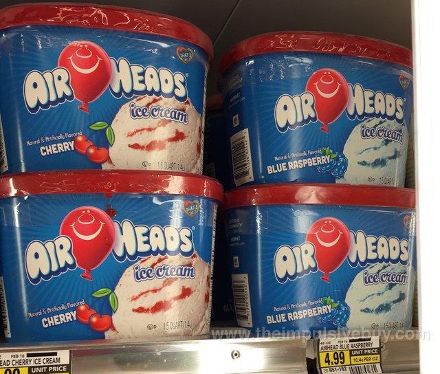 Airheads Ice Cream (Cherry & Blue Raspberry)