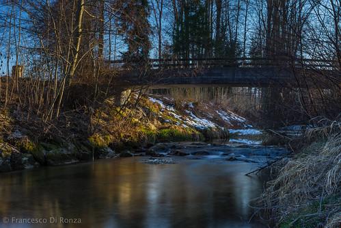 bridge trees nature water river landscape schweiz wasser natur brücke fluss landschaft bäume thur langzeitbelichtung sanktgallen longtimeexposure oberbüren oberbürensg