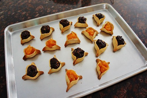 At Home:  Hamantaschen