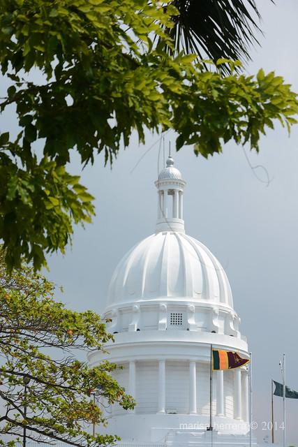 Sri Lanka. Colombo. Old Town Hall.