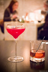 Sparkling Vampyro - beets, apple, elderflower, spa…