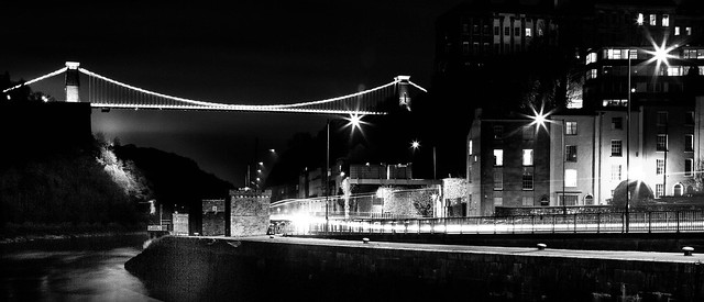 Clifton Suspension Bridge over River Avon