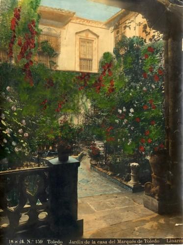 214 - Jardín de la Casa del Marqués de Toledo - Palacio de Benacazón