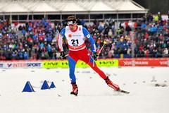Běžec na lyžích Lukáš Bauer skončil 7. na MS v závodě na 15 km volně