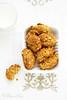 Biscuits aux flocons d'avoine et miel