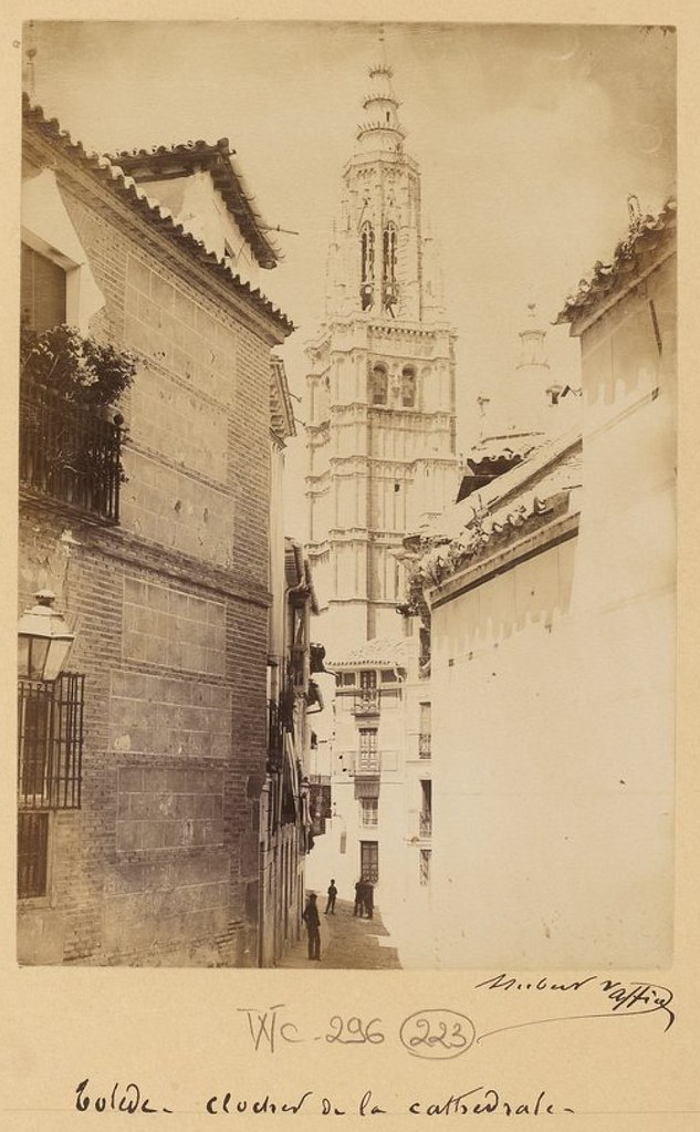 Calle Santa Isabel en 1889. Fotografía de Marie Hubert Vaffier © Bibliothèque Nationale de France