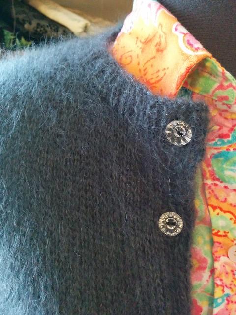 The Kelly Cardigan, pattern by Erika Knight