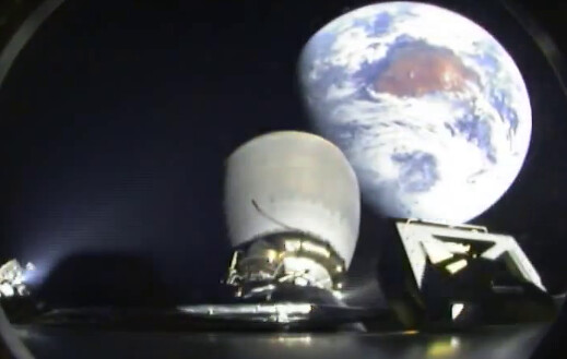 DSCOVR 2nd Stage Earth View