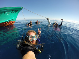 Advance PADI course through Underwater Vision, Utila.