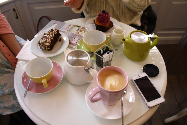 Afternoon tea at Peggy Porschen, London