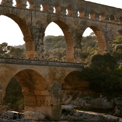 historic site(0.0), devil's bridge(1.0), ancient roman architecture(1.0), arch(1.0), ancient history(1.0), aqueduct(1.0), landmark(1.0), architecture(1.0), ruins(1.0), ancient rome(1.0), arch bridge(1.0), viaduct(1.0), bridge(1.0),