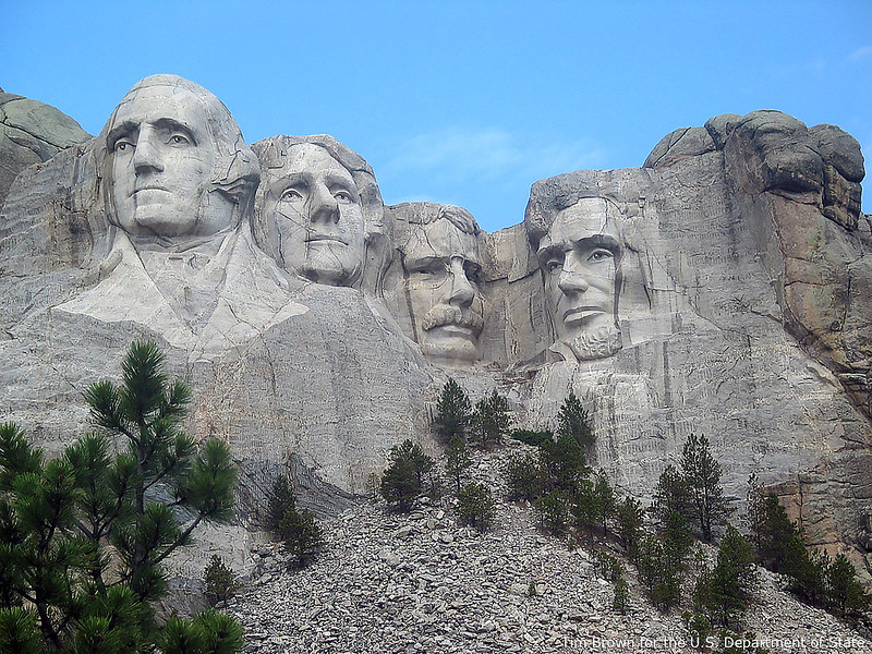 Mount Rushmore up close and personal