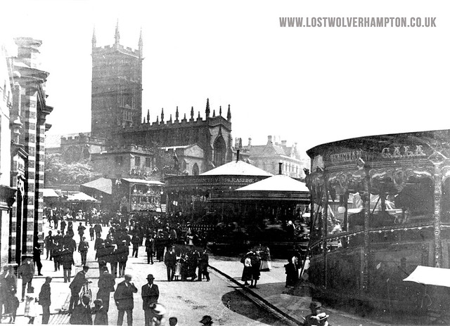 Pat Collins on the Wulfruna Street Market Patch early 1900's