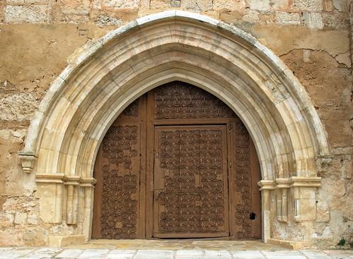 Presencio (Burgos). Iglesia de San Andrés. Reja románica