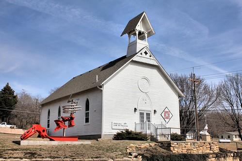 Flatwater Folk Art Museum (Howe Church) - Brownville, NE