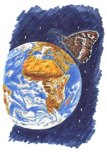 Efecto mariposa..., con estrellas