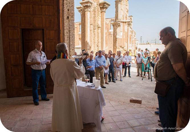 La Catedral de Cartagena abre sus puertas con una Misa