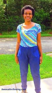 My Seamwork Moji Pants