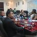 Ezequiel Vólquez, de Prosoli, comparte datos con la delegación del Surinam