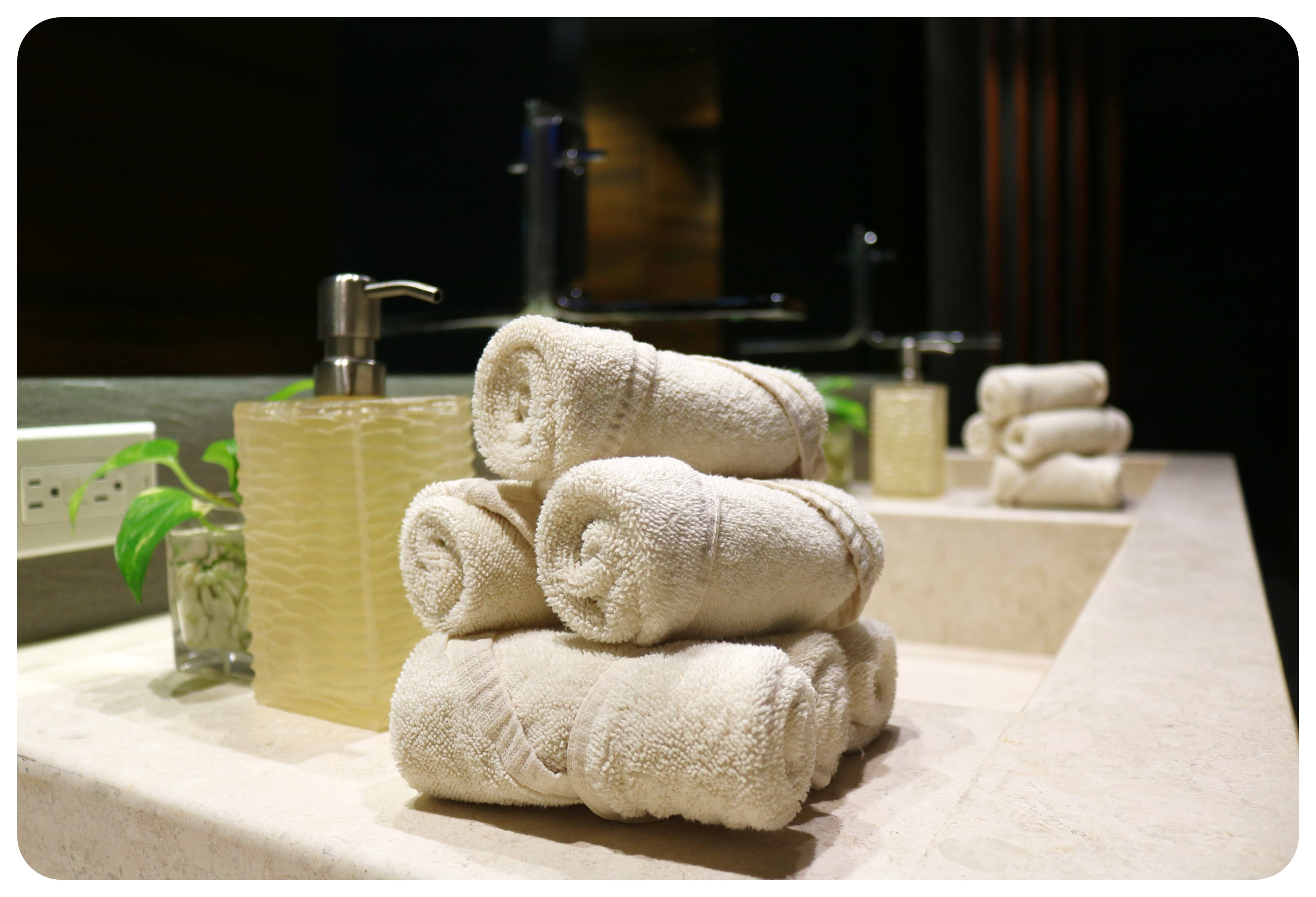 grand hyatt playa del carmen cenote spa towels