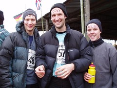 Greg, Kev & James at the Start Image