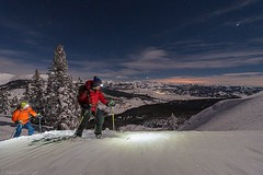I'm dreaming of moonlight tours with @eclairecripps #colorado #backcountry #skiing #backcountryskiing  #night #moonlight #fullmoon #skitour