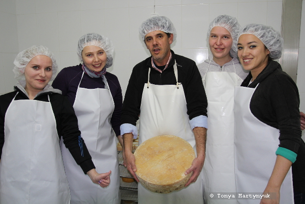 3 - мастер-класс по приготовлению сыра - традиции Португалии