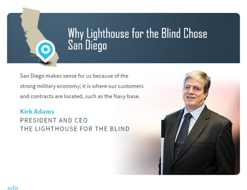 Why Lighthouse chose San Diego