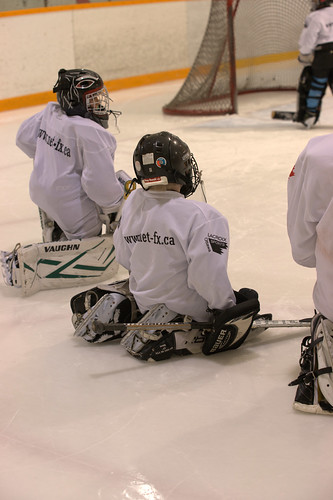 Goalie school