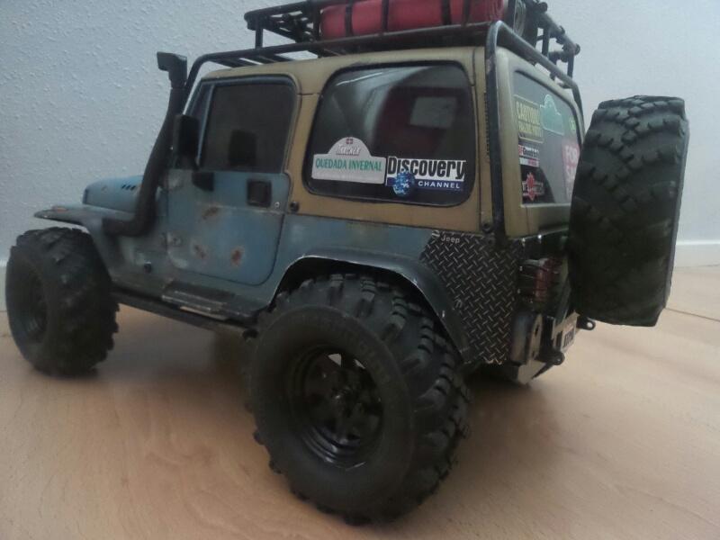 Jeep Wrangler YJ RcModelex 15444322283_94f7825f6f_o
