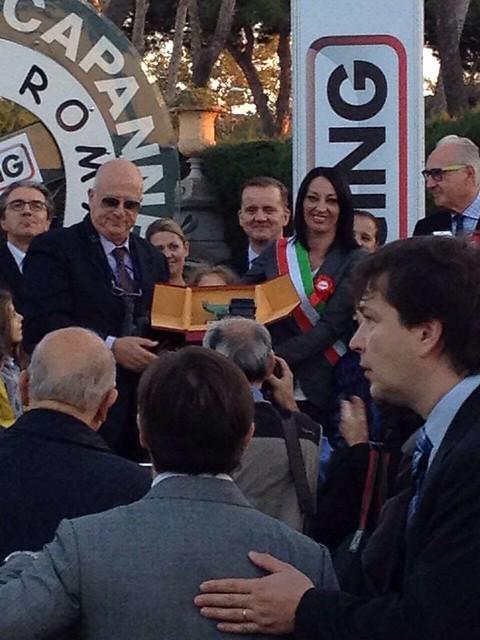 Premiazione Premio Ippico Roma Racing 1