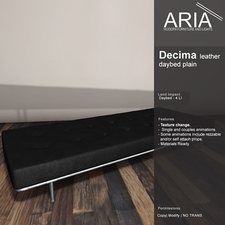 Decima daybed plain @ N-TwentyOne