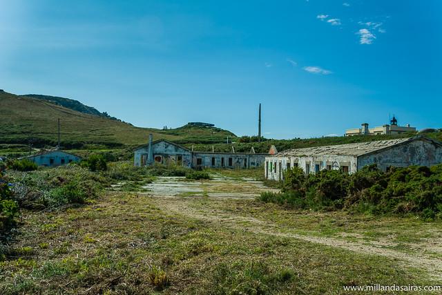 Baterías de costa en Cabo prior