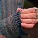 """Trillian"" shawl - Detail"