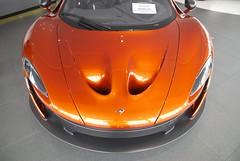 McLaren P1, amber & carbon fibre Palo Alto nose DSC_0425