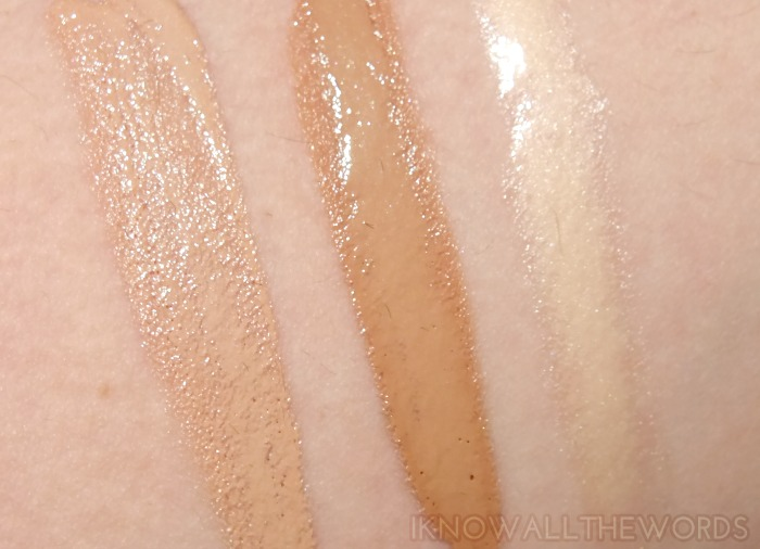 Vichy Idealia BB & Eye Idealizer swatches