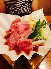 meal, sashimi, meat, salt-cured meat, kobe beef, prosciutto, food, dish, cuisine, cooking,