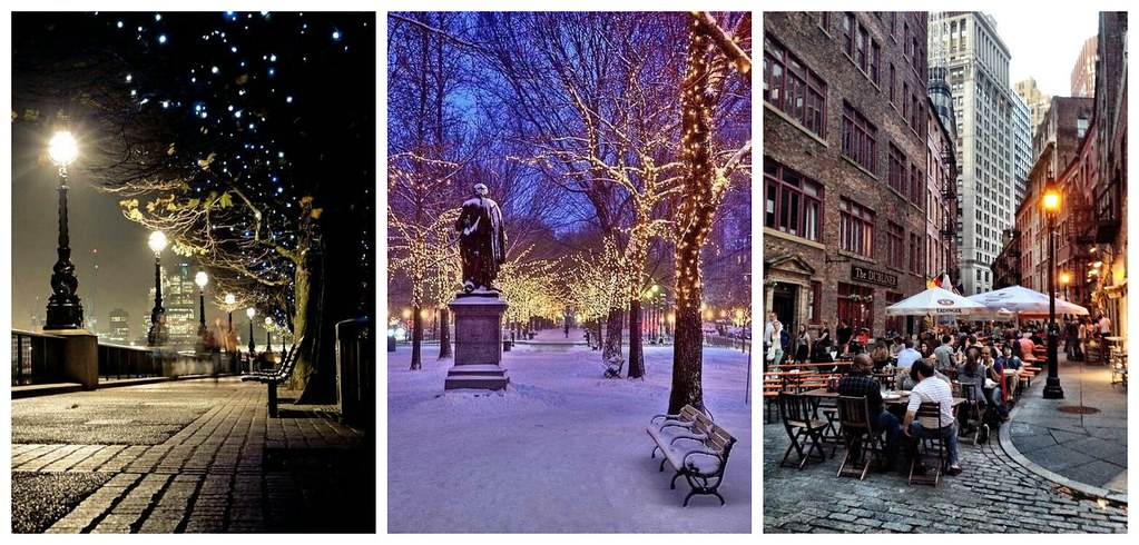 New York. in winter