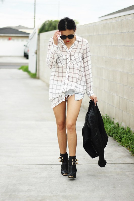 shirt dress,pleione clothing,pleione,nordstrom,hm,leather jacket,moto jacket,zero uv,lucky magazine contributor,fashion blogger,lovefashionlivelife,joann doan,style blogger,stylist,what i wore,my style,fashion diaries,outfit,street style,charlotte russe,balenciaga,fashion climaxx,ootd magazine